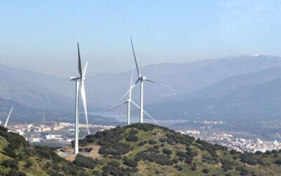 El parque eólico Merengue produce 1,3 veces el consumo eléctrico de todas las viviendas de Plasencia
