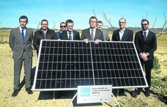 El parque fotovoltaico Algibicos generará energía para 25.000 hogares